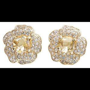Stella & Dot Belle Fleur Earrings